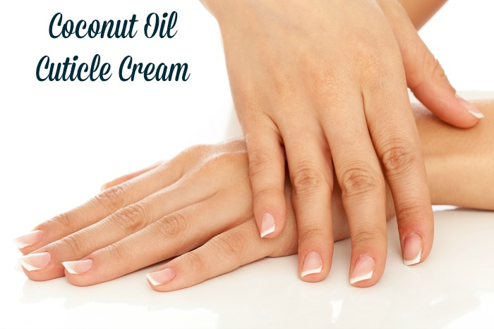 Coconut Oil Cuticle Cream