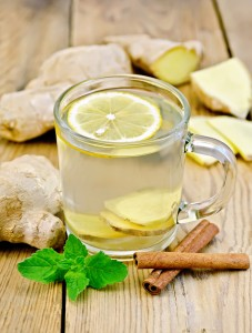 Spiced Ginger Tea