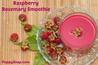 Start Your Day With A Raspberry Rosemary Smoothie ...
