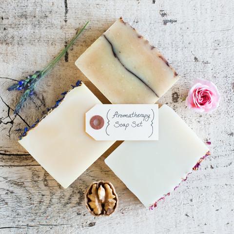 Aromatherapy Organic Soap Set